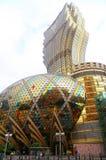 Grand lisboa casino and hotel, macau Royalty Free Stock Images