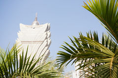 Grand Lisboa Casino in Macau Royalty Free Stock Photo