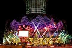 Grand Lisboa Casino LED Marquee, Macau, China Stock Photography