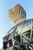 The Grand Lisboa, Macao. Stock Photos