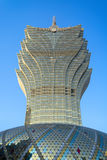 The Grand Lisboa in Macao. Royalty Free Stock Images