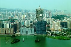 Grand Lisboa Royalty Free Stock Photos