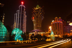 Grand Lisboa Royalty Free Stock Images