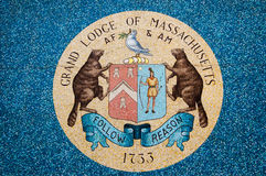 Grand lodge Masons Emblem Royalty Free Stock Image