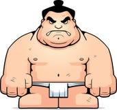 Grand lutteur de sumo illustration libre de droits