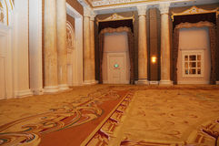Grand luxurious hotel hall Royalty Free Stock Photography