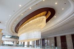 Grand luxurious hotel hall Stock Image