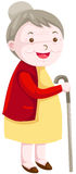 Grand-mère illustration stock