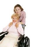 Grand-mère et de l'adolescence Photo libre de droits