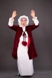 Grand-mère pendant le vol photos libres de droits