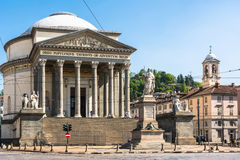 The Grand Madre Church in Turin Royalty Free Stock Image