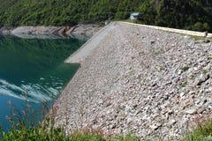 Grand` Maison Dam, Lac de Grand Maison, french Rhone-Alpes stock image