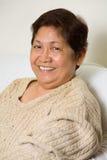 Grand-maman de sourire Image libre de droits