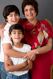 Grand-maman et nous photo libre de droits
