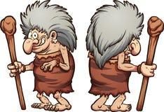 Grand-maman préhistorique illustration stock