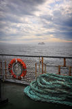 Grand Manan Ferry. Taken on the ferry between Blacks Harbour and Grand Manan in New Brunswick, Canada Stock Image