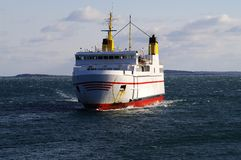Grand Manan V  Steaming into Port Stock Photography