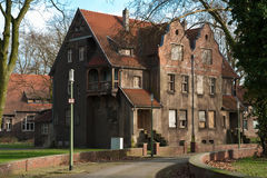 Grand manoir ou maison Images stock
