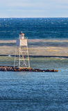 Grand Marais Harbor Inner Range Light Stock Photos