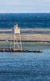 Grand Marais Harbor Inner Range Light Stock Photos