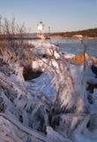 Grand Marais Light Lake Superior Cook County Minnesota USA Royalty Free Stock Photos