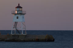 Grand Marais Lighthouse Stock Image