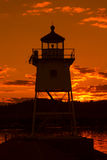 Grand Marais Lighthouse Royalty Free Stock Images