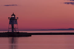 Grand Marais Lighthouse Royalty Free Stock Photography