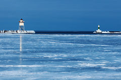 Grand Marais Lighthouse Royalty Free Stock Images