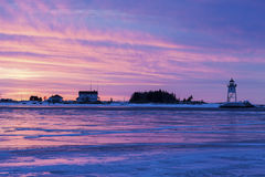 Grand Marais Lighthouse Stock Photo