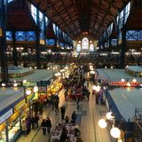 Grand Market. Budapest, Hungary. Travel royalty free stock images