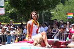 Grand Marshal Fernanda Rocha Royalty Free Stock Images