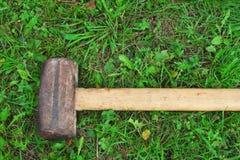 Grand marteau photographie stock libre de droits
