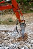 Grand marteau piqueur hydraulique Photographie stock