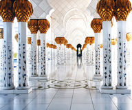 Grand Masajid Abu Dhabi Stock Photos