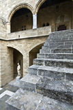 Grand Master's palace at Rhodes, Greece Stock Photos