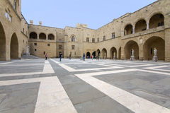 Grand Master's palace at Rhodes, Greece Stock Photo