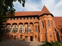 Grand Masters' Chapel in Malbork Castle Royalty Free Stock Photo