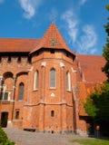 Grand Masters' Chapel in Malbork Castle Stock Photos