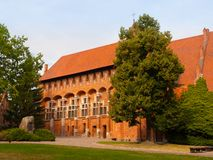 Grand Masters' Chapel in Malbork Castle Stock Photography