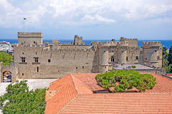 Grand Master's Palace in medieval Town of Rhodes Royalty Free Stock Photography