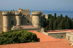 Grand Masters palace in Rhodes Royalty Free Stock Photography