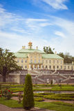 Grand Menshikov Palace in Oranienbaum. LOMONOSOV, RUSSIA - AUGUST 20, 2014: Grand Menshikov Palace, the Palace and Park ensemble of Oranienbaum, Russia Stock Image