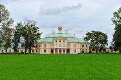 Grand Menshikov palace in  Oranienbaum , Lomonosov, St-Petersbur Royalty Free Stock Image