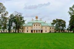 Grand Menshikov palace in  Oranienbaum , Lomonosov, St-Petersbur Royalty Free Stock Image
