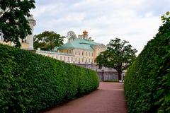 Grand Menshikov palace in  Oranienbaum , Lomonosov, St-Petersbur Royalty Free Stock Images