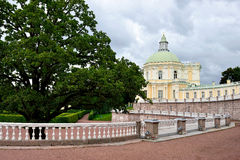 Grand Menshikov palace in  Oranienbaum � Lomonosov, St-Petersbur Stock Photos