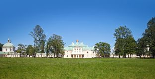 Grand Menshikov Palace,  Oranienbaum, Russia Royalty Free Stock Photos