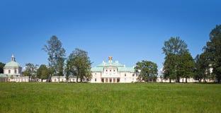 Grand Menshikov Palace, Oranienbaum, Russia. Grand Menshikov Palace and park. St.Petersburg area, Lomonosov, Oranienbaum, Russian Federation royalty free stock photos