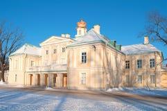 Grand Menshikov Palace, sunny january day. Oranienbaum Stock Image